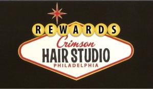 Crimson Hair Studio Rewards Program