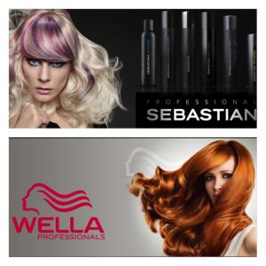 Wella and Sebastian Products at Crimson