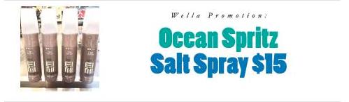 Product Review: Wella Ocean Spritz Salt Spray